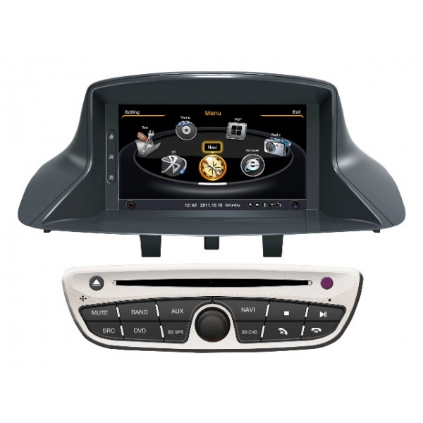 Wholesale Renault Megane III 2010~2013 - Car GPS Navigation DVD Player Radio Stereo S100 Multimedia System