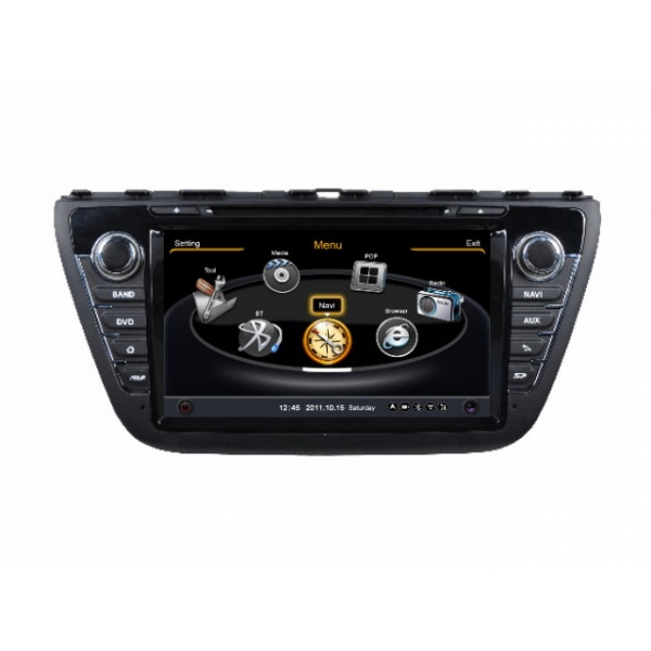 Wholesale Suzuki S-Cross 2013~2014 - Car GPS Navigation DVD Player Radio Stereo S100 Multimedia System