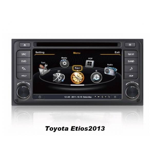 Wholesale Toyota Etios 2012~2013 - Car GPS Navigation DVD Player Radio Stereo S100 Multimedia System