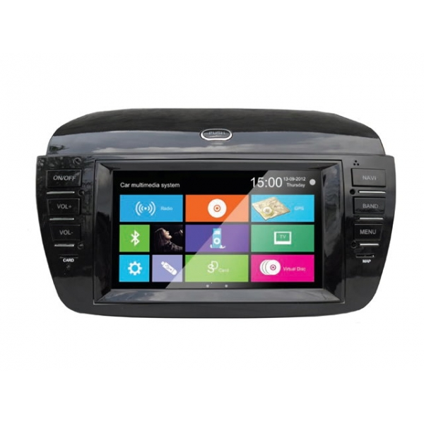 Wholesale FIAT Doblo 2010~2013 - Car Stereo Radio DVD GPS Navigation 1080P HD Screen System