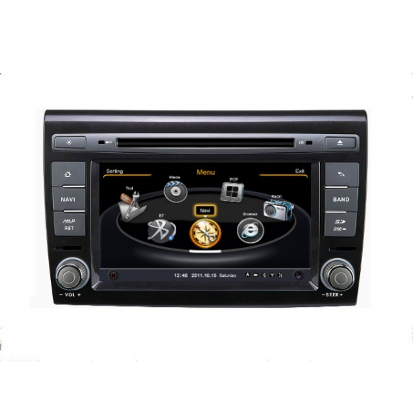 Wholesale FIAT Bravo 2007~2013 - Car GPS Navigation DVD Player Radio Stereo S100 Multimedia System