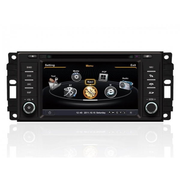Wholesale Dodge Challenger 2008~2011 - Car GPS Navigation DVD Player Radio Stereo S100 Multimedia System