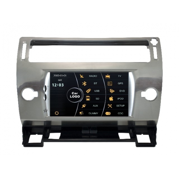 Wholesale Citroen C4 Pallas 2004~2010 - Car Stereo DVD Player GPS Navigation Radio HD MFD Screen 2-Core System