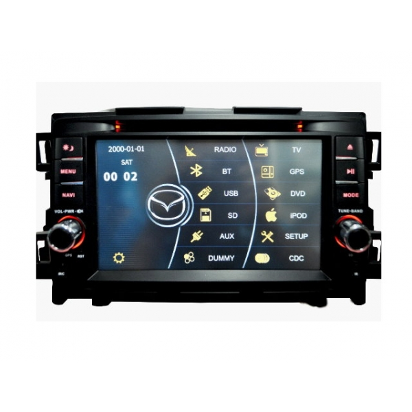 Wholesale Mazda CX-5 2012~2014 - Car Stereo DVD Player GPS Navigation Radio HD MFD Screen 2-Core System