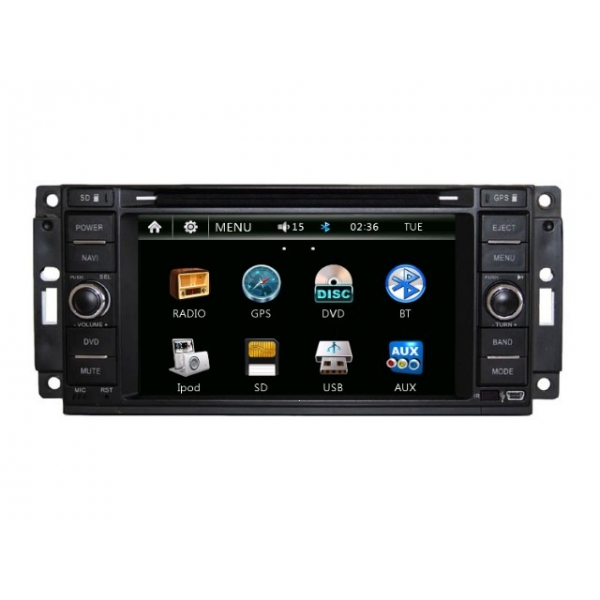 Wholesale Chrysler Voyager 2008~2013 - Car Radio DVD Player GPS Navigation Advanced A5 System