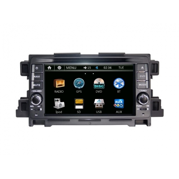 Wholesale Mazda 6 2013~2014 - Car Radio DVD Player GPS Navigation Advanced A5 System
