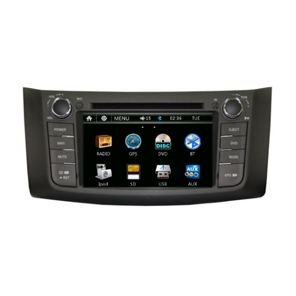 Wholesale Nissan Sylphy 2012~2013 - Car Radio DVD Player GPS Navigation Advanced A5 System