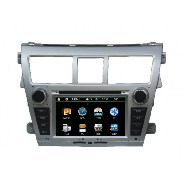 Wholesale Toyota Vios 2007~2012 - Car Radio DVD Player GPS Navigation Advanced A5 System