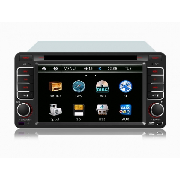 Wholesale Toyota Hiace 2004~2013 - Car Radio DVD Player GPS Navigation Advanced A5 System