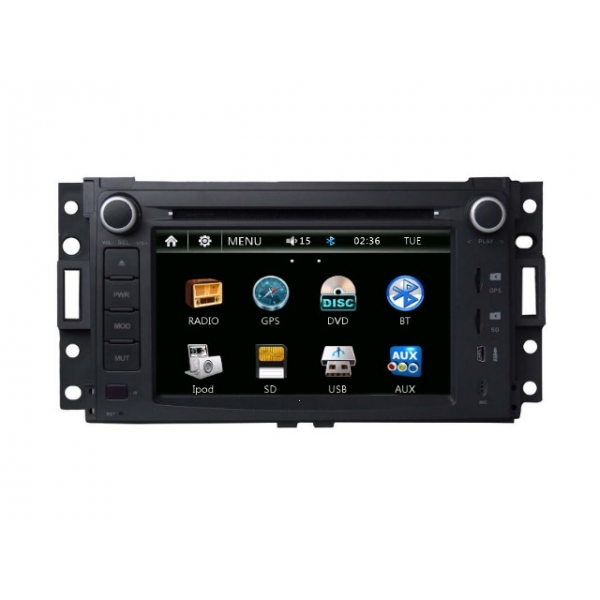 Wholesale Buick Terraza 2005~2007 - Car Radio DVD Player GPS Navigation Advanced A5 System