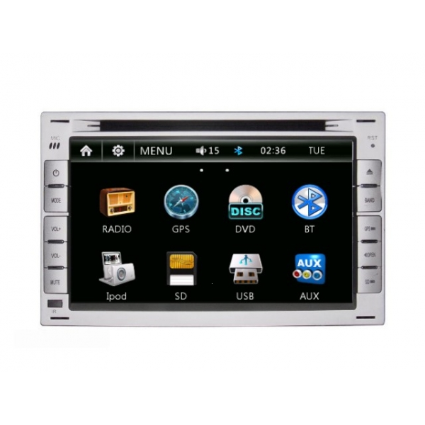 Wholesale VW Polo MK4 2005~2009 - Car Radio DVD Player GPS Navigation Advanced A5 System