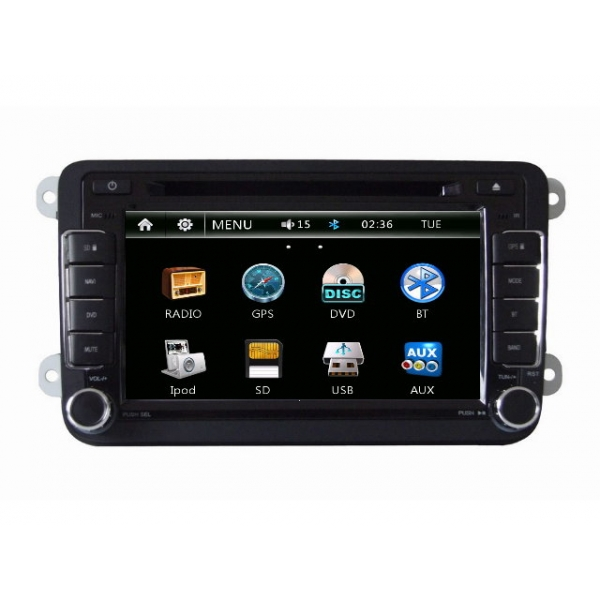 Wholesale SEAT Alhambra 2010~2013 - Car Radio DVD Player GPS Navigation Advanced A5 System