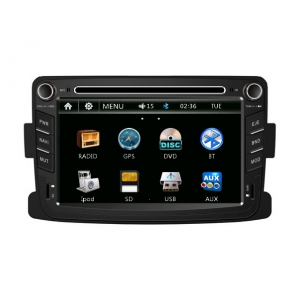 Wholesale Renault Sendero 2009~2013 - Car Radio DVD Player GPS Navigation Advanced A5 System