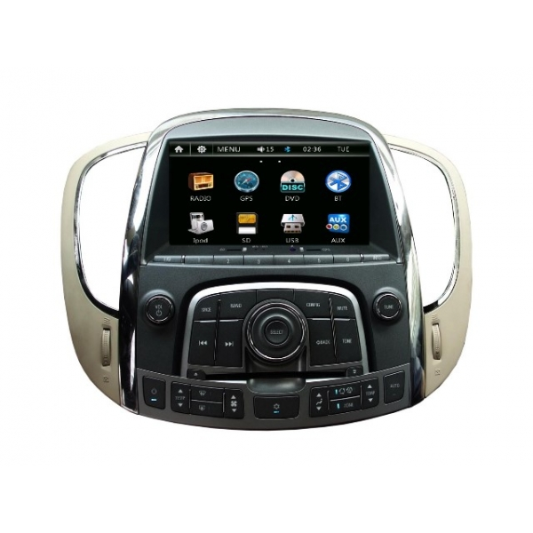 Wholesale Buick Allure 2010~2013 - Car Radio DVD Player GPS Navigation Advanced T107 System