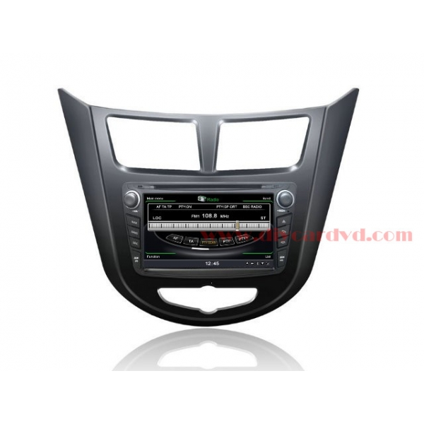 Wholesale Hyundai i25 2011~2013 - Car GPS Navigation DVD Player Radio Stereo S100 Multimedia System