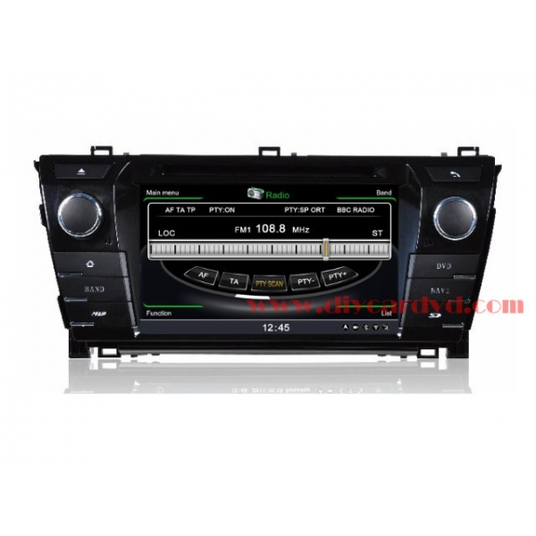 Wholesale Toyota Corolla E160 E170 2012~2014 - Car GPS Navigation DVD Player Radio Stereo S100 Multimedia System