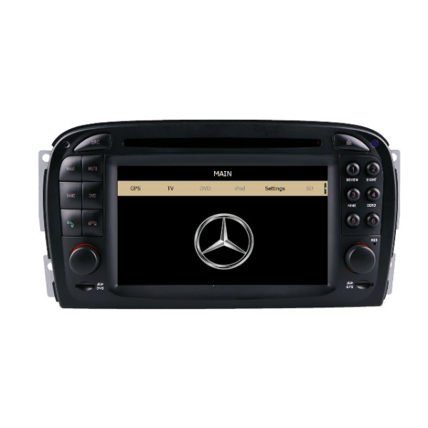 Wholesale Mercedes Benz SL500 2001~2008 - Car Stereo DVD GPS Navigation 1080P HD Screen System