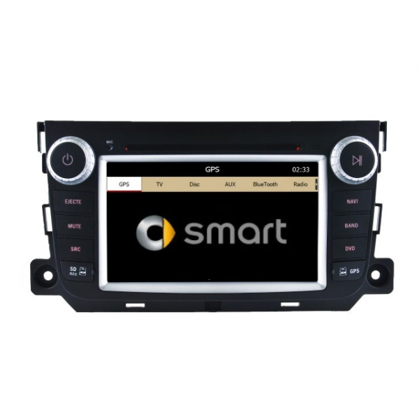 Wholesale Smart Fortwo 2012~2013 - Car Stereo Radio DVD GPS Navigation 1080P HD Screen System