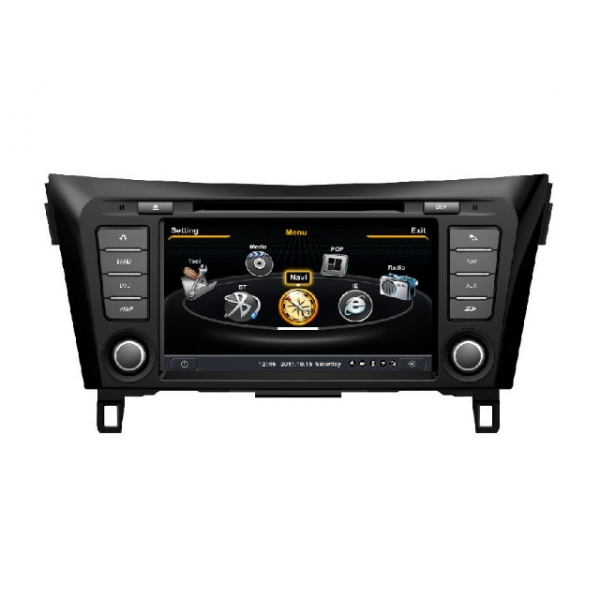 Wholesale Nissan Qashqai 2012~2015 - Car GPS Navigation DVD Player Radio Stereo S100 Multimedia System